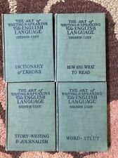 The Art of Writing & Speaking The English Language  Set Of 4 By Cody 1905