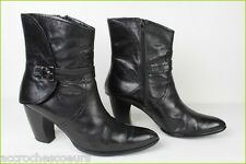 Bottines EMERGENCE Cuir Noir T 41 BE