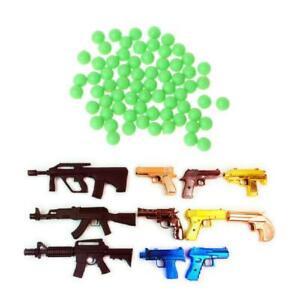 800pcs 6mm Medium Stiff Bb Gun Paintball Toy Pistol Sniper Bullets Ball Kids Toy