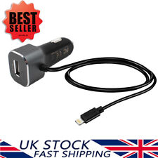 ENNOTEK MFI iPhone Lightning Fast Car Charger Extra USB Port For iPhone & iPad