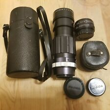 EBC Fujinon T 1:4.5 / 200 mm Fuji Photo Camera Lens w/ Case For Fuji and convert