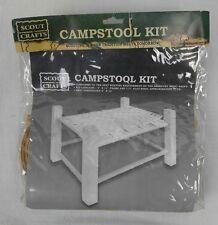 Boy Girl Scout Camp Stool Seat Weaving Kit Basketry Merit Badge #100