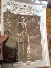 Trade Coth Dress Missouri River Sewing Pattern Pow Wow Black Powder Rendezvous