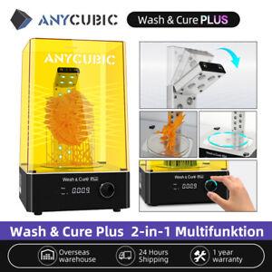 ANYCUBIC 2 in 1 WASH & CURE PLUS Maschine 405nm UV Licht für LCD SLA 3D Drucker