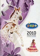 Catalogue PAPO - Collection 2010 - Animaux et Figurines miniatures - 140 pages