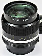 *** NEW UNUSED ** Nikon 35mm F2.0 Ai-s For F3 FM2 FE2 F2 D700 D600 FM3A D750
