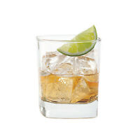 SET of 4-pc Luminarc 'Schubert' 11 Oz Crystal-Clear Rocks Glasses for Whiskey