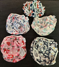 *NEW!* lot of 5 Reusable Swim Diapers Beau and Belle/Alva Baby