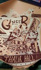 Ginger Baker Jazz Confusion Concert Poster Thalia Hall