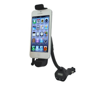 H33D Fm Transmitter Mount Hands Free Kit Over 3.5mm Jack Plug IPHONE