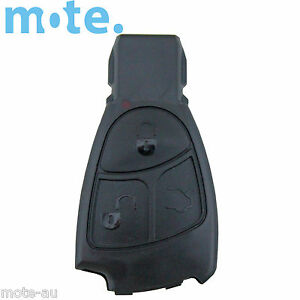 To Suit Mercedes-Benz E C Class 3 Button Remote Key Replacement Shell/Case
