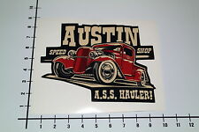 Austin speed shop autocollant sticker texas usa Jesse James hot rod Décalque mi229