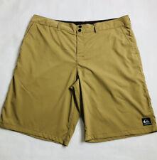 Quiksilver Men's Size 40 Surf Swim Casual Shorts Tan