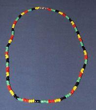 Jamaican Rastafarian Necklace / Reggae Necklace / Bob Marley