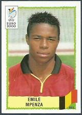 PANINI EURO 2000-BLACK BACKS- #112-BELGIUM-EMILE MPENZA
