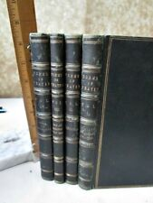 4Vols.FORMS of PRAYER Used In West London SYNAGOGUE Of British JEWS,1882