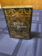 Gilded Gold Devil's In The Details Playing Cards #73/300