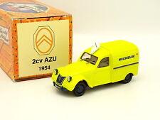 Norev Hachette 1/43 - Citroen 2CV AZU Michelin