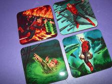 Captain Scarlet Art Drinks Coaster Set