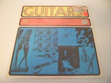 History Of The Guitar Sound & Song  SEALED !  Sitar Steel Bass Ukelele  RARE