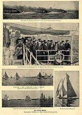 Kieler Woche * Bilddokumente von 1902