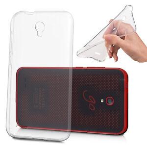 Housse Etui Coque Gel UltraSlim Silicone TPU pour Alcatel Go Play