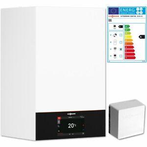 Viessmann Vitodens 300-W Gas Brennwert Therme 25 kW B3HG Regelung Sensor Z022230