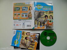 Jeu nintendo wii pal Planet rescue wildlife vet testé