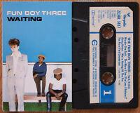 FUN BOY THREE - WAITING (CHRYSALIS ZCHR1417) 1983 UK CASSETTE TAPE SPECIALS SKA