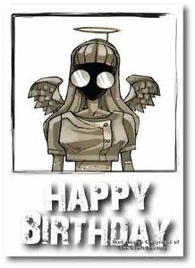 Birthday Card -  Mad and Rad Range - Little Angel PB014