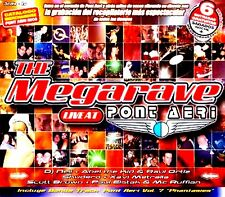 CDx3 - Various - The Megarave Live At Pont Aeri (RAVE) PRECINTADO - SEALED
