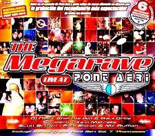 CDx3 - The Megarave Live At Pont Aeri - Various (RAVE) MINT, SEALED, PRECINTADO