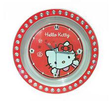 Hello Kitty Diamante Wall Clock