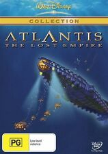 Atlantis The Lost Empire (DVD 2001) Disney Animated Film