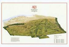 MUIRFIELD 1891 - Vintage Golf Course Map /option OPEN map with Winners