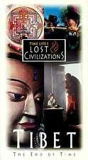 NEW Time Life Lost Civilizations Tibet VHS Mystic Shangri-la Dalai Lama Himalaya