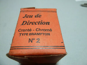 Vintage NOS NEW French Rewax No.2 Brampton French threaded  headset