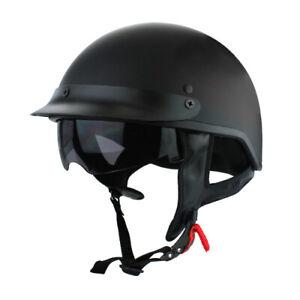 Half Face Motorcycle Helmet Eps Lining Dot Approvato Half Face Vintage Helmet