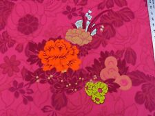 """6YDS SCALAMANDRE """"le EDEN"""" HOT PINK FUCHSIA PEONY CHINOISERIE FRANCE MSRP$284/Y"""