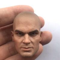 1:6 Scale male custom head  the Blind old man killer 2016