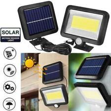 100 LED Solar Power Motion Sensor Light Outdoor Garden Floodlight Security Lamp.