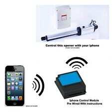 Iphone Remote Control YOUR Kenner KNL01 KNL02 Automatic Swing Gate Motor Opener