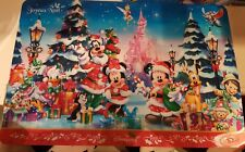 SET TABLE NOEL / Christmas SCENE Disneyland Paris