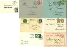 Suisse - Très joli lot de lettres et cartes anciennes - Voir Scan
