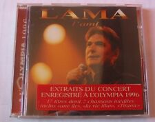 SERGE LAMA (CD) L'AMI EXTRAITS CONCERT OLYMPIA 1996