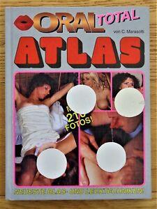 ORAL ATLAS Erotik Sachbuch von Curt Marasotti Color Text deutsch