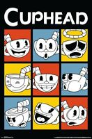 CUPHEAD - FACES POSTER - 22x34 - 17350