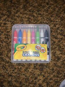 Crayola Face & Body Crayons .. 8 Pack