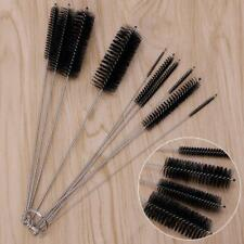 10pc Bottle Cleaning Brush Set Nylon Tube Pipe Washing Cleaner Test Tools Kit W