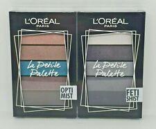 L'Oreal Paris La Petite Palette Fetishist & Optimist Eyeshadow Palettes - NEW